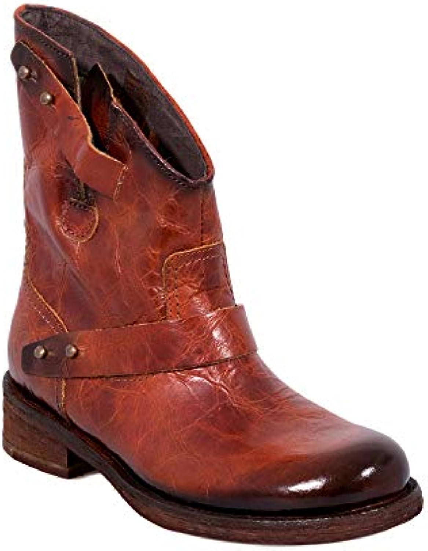 Felmini - Scarpe Donna - Innamorarsi Com Verdy B333 B333 B333 - Stivali Cowboy & Biker - in Pelle Genuina - Marronee   Acquisto  148330