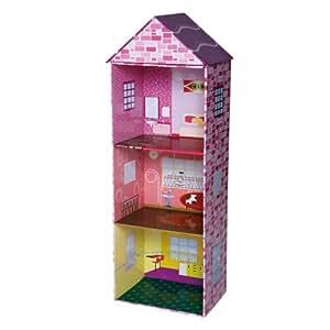 Knorrtoys.com 80152 - Puppenhaus aus Karton 3 stöckig