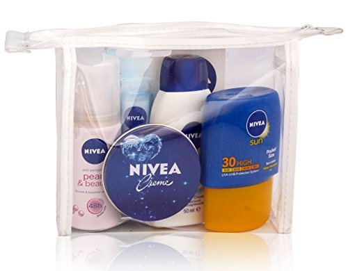 nivea-ladies-travel-mini-summer-bag-set-deodorant-lip-balm-shower-gel-cream-sun-lotion
