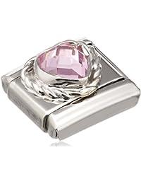Nomination - 330603/003 - Maillon pour bracelet composable Femme - Acier Inoxydable- Oxyde de Zirconium