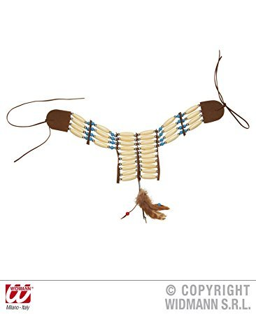 Native Indian Choker Accessory for Fancy (Indian Squaw Kostüme)