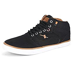 Sparx Men 282 Black Tan Casual Shoes-10 UK