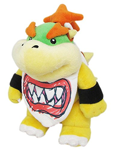 Super Mario - Bowser Jr. Plush - 21cm 9""