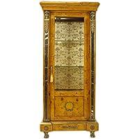 Comparador de precios Casa-Padrino Empire Vitrine Birdseye Maple 180 x 80 cm - Handcrafted from Solid Wood - Baroque Display Case - precios baratos