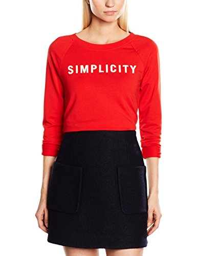 Marc O'Polo 701301154089, Sweat-Shirt Femme Rot (glaring red 319)