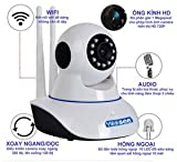 Yoosee Home Ip Camera Long Range (Version 2017) 360 Degree Move Wireless (2, Dual Antenna) Wifi Ip Smart Onvif Camera