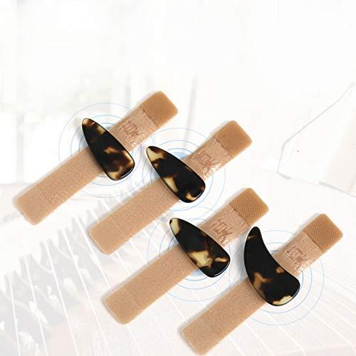 Kongqiabona Fingernagel Guzheng Pipa Erwachsene Farbe Fingernägel Nicht Klebeband für Kinder