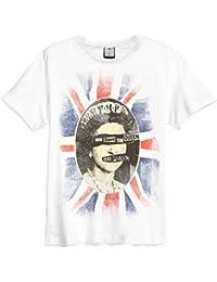 Official Amplified Unisex T Shirt Sex Pistols ~ QUEEN Vintage S