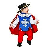 Disfraz de carnaval Mosquetero 68cm