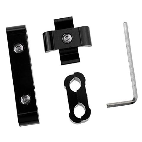 Gazechimp Séparateur de Câble Bougie d'Allumage 8mm 9mm 10mm Rouge - Noir