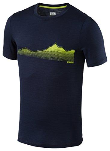 McKINLEY Herren Ada T-Shirt, Blau, M