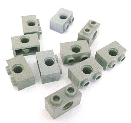 Preisvergleich Produktbild LEGO ® Technic - 25 Stück - Steine Lochsteine Lochbalken Nr. 3700 - 1 x 2 x 1 - hellgrau