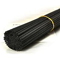 100 Stück Fasern stäbchen Reed Diffusor Stöcke Reed Sticks ätherisches Öl Aroma Diffusor Stöcke (30cm*3mm, Schwarz) preisvergleich bei billige-tabletten.eu