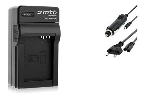 Caricabatteria (Auto/Corrente) per Canon NB-10L / PowerShot G15, G16, G1X, SX40 HS, SX50 HS