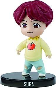 BTS mini figura de vinilo Suga miembro banda coreana (Mattel GKH80)