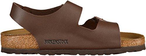 Birkenstock Classic MILANO BF Unisex-Erwachsene Knöchelriemchen Sandalen Braun