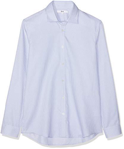 Find. slim oxford camicia, blu (blue), 50
