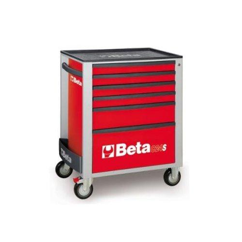 Beta Tools C24S 5/R-Carro Com 5 Gavetas
