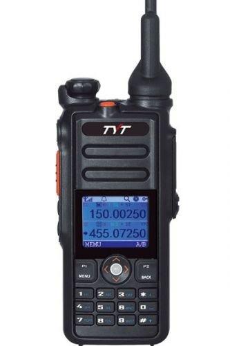 Tytera TYT MD-2017 VHF/UHF DMR Handfunkgerät mit GPS + USB Programmierkabel