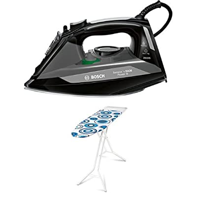 Bosch TDA3020GB Power III Steam Iron, 2800 W - Black