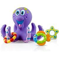2x Nuby Octopus Floating Bath Toy (Multi-Coloured)