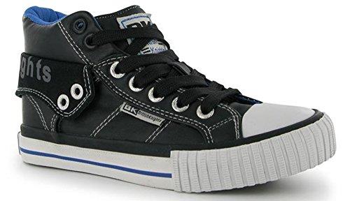 Britânico Preto Jovem Cavaleiros Azul Sneaker Sw1WqdR