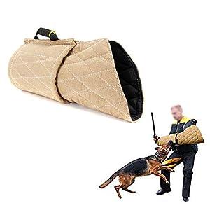 LIBWX Protection d'entraînement Contre Les morsures de Chien, Dressage de Berger Allemand/Malinois Belge/Chiots Pitbull