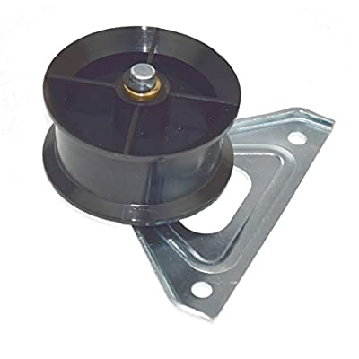 Yourspares Replacement Drive Belt Jockey Tension Pulley Wheel & Bracket for Hotpoint Indesit Tumble Dryers