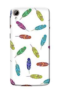 HTC 828 Case Kanvas Cases Premium Quality Designer 3D Printed Lightweight Slim Matte Finish Hard Back Cover for HTC 828