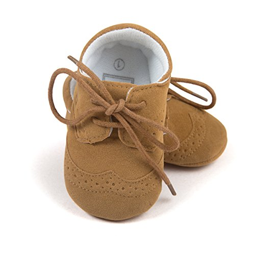 Infant Baby Boys' Shoes PU Sneakers Brown Size US 4