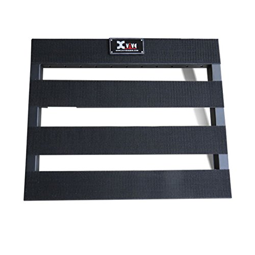 Xvive f2-pack Pedal Board Pack inkl. Kabel und Klettverschluss