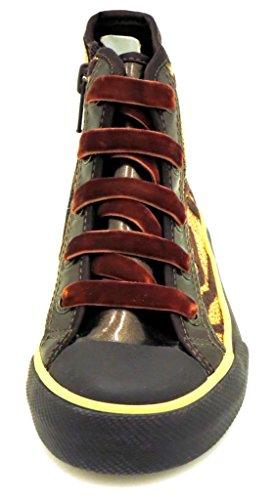 Primigi High Top Sneaker Mädchensneaker Mädchenschuhe Mädchen Schuh Tigerlook Braun