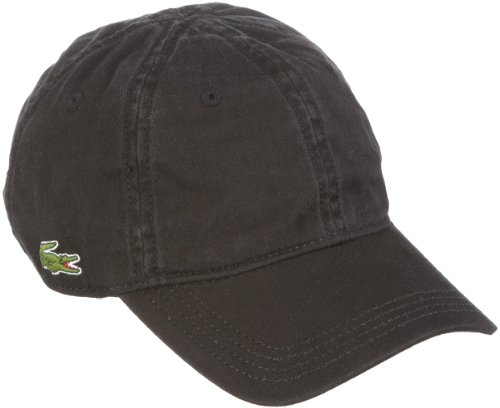 Lacoste Unisex Baseball Cap RK9811 - 00, Gr. One size, Schwarz (BLACK 031)