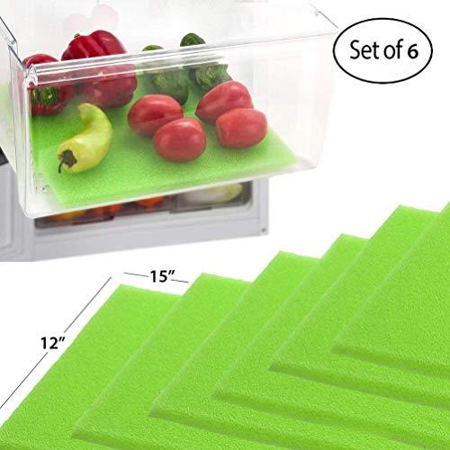 Dualplex Fruit & Veggie Life Extender Kofferraumwanne für Kühlschrank Schubladen (6Pack)-verlängert die Lebensdauer Ihrer erzeugen & verhindert Verderb, 30,5x 38,1cm Life Extender