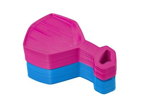 Traineau &rodel bobs en tôle-hot pink - 504501