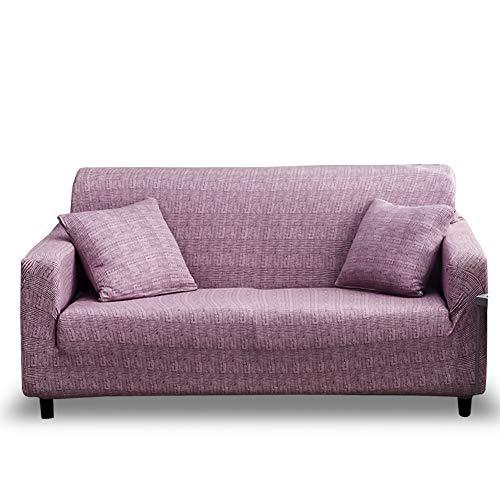HOTNIU Elastischer Sofa-Überwürfe Antirutsch Stretch Sofaüberzug, Sofahusse, Sofabezug, Sofa Abdeckung Hussen für Sofa, Couch, Sessel in Verschiedene Größe und Farbe (2 Sitzer, Muster #FSDS)