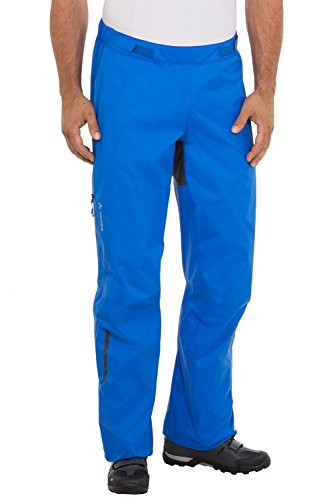 VAUDE Tremalzo Pantalon de pluie pour homme Bleu - Bleu