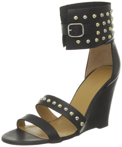 Tatoosh Glasgow, Damen Sandalen Schwarz