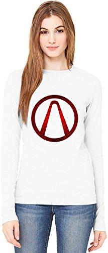 Borderlands Symbolism T-Shirt da Donna a Maniche Lunghe Long-Sleeve T-shirt For Women| 100% Premium Cotton Ultimate Comfort XX-Large