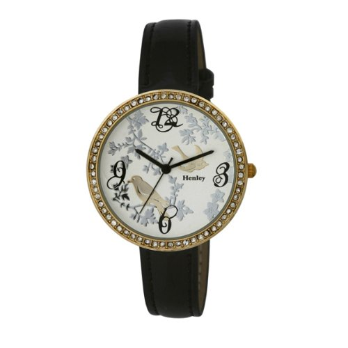 henley-ladies-gold-diamante-encrusted-fashion-womens-quartz-watch-with-white-dial-analogue-display-a