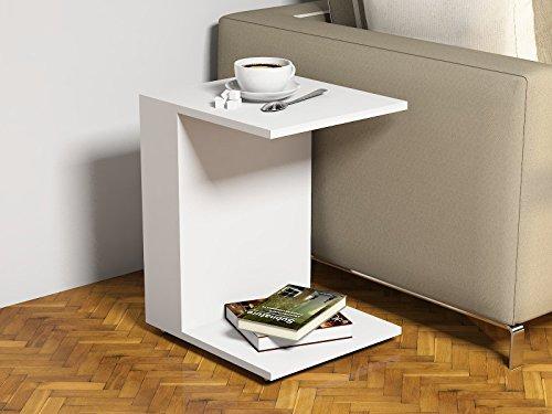JOUR-Tavolino-basso-da-salotto-con-ruote-Bianco-materiale-in-legno-Tavolino-da-divano-Tavolino-da-Caff-moderno-in-un-design-alla-moda-con-mensola