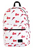 H3 Sportgear, LLC David Bowie Allover Print White Backpack Standard