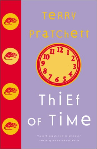 Book cover for Thief of Time