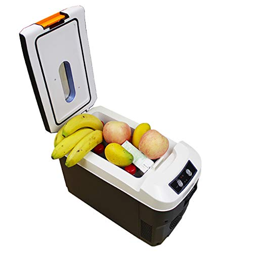 Car Refrigerator 10L Auto KüHlschrank, Auto Dual-Use Mini Heizung Und KüHlbox, Portable Semiconductor Incubator Auto KüHlschrank
