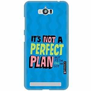 Printland Designer Back Cover for Asus Zenfone Max ZC550KL - Perfect Plan Case Cover