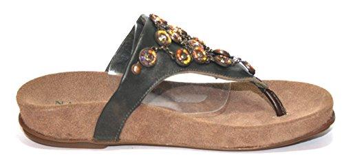 Naot - Pantofole Donna Schwarz (Black Pearl)