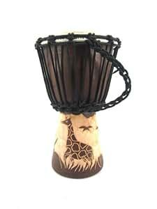 30cm djembe tam tam tambour professionnel enfants kids super son instruments de musique. Black Bedroom Furniture Sets. Home Design Ideas