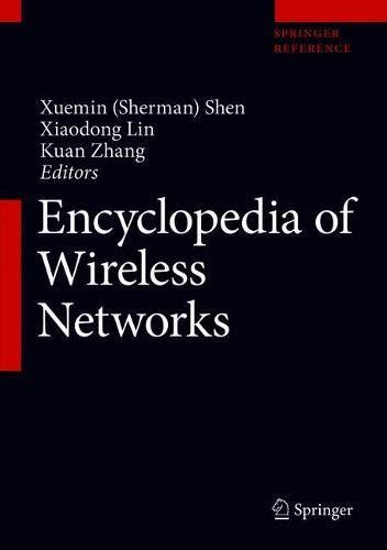 Encyclopedia of Wireless Networks
