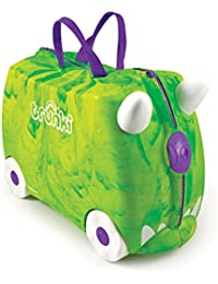Trunki Trunki Ride-On Suitcase Bagage Enfant, 46 cm, 18 L, Vert