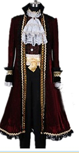 Vivian APH Anime Axis Powers Hetalia Spanien 7 Jährigen Krieg Cosplay Kostüm (Mailen Sie uns Ihre Größe),Größe XXL:(175-180 (Hetalia Cosplay Kostüme)